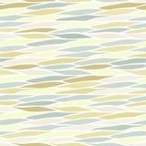 Naadloos patroon met abstracte golventextuur Royalty-vrije Stock Foto's