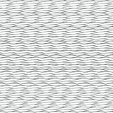 Naadloos patroon met abstracte golventextuur Royalty-vrije Stock Afbeeldingen