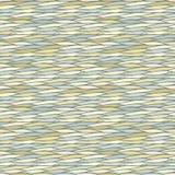 Naadloos patroon met abstracte golventextuur Stock Foto