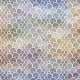 Naadloos patroon met abstracte schaaltextuur Stock Afbeeldingen