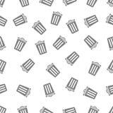 Naadloos patroon met bak Royalty-vrije Stock Foto