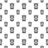 Naadloos patroon met bak Stock Afbeeldingen