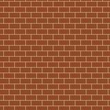 Naadloos Patroon met Bakstenen muurtextuur Stock Foto's