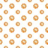 Naadloos patroon met basketbal Royalty-vrije Stock Foto