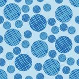 Naadloos patroon met bellen Stock Fotografie