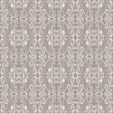 Naadloos patroon met bladeren Stock Foto's