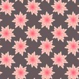 Naadloos patroon met bloem Royalty-vrije Stock Afbeeldingen