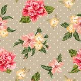 Naadloos patroon met bloemen vector illustratie