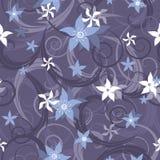 Naadloos patroon met bloemen Royalty-vrije Stock Afbeeldingen