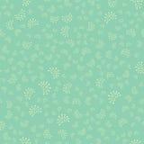 Naadloos patroon met bloemenelementen Royalty-vrije Stock Afbeeldingen