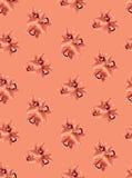 Naadloos patroon met bloemenorchideeën Stock Fotografie