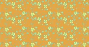 Naadloos patroon met bloemornament Stock Afbeeldingen