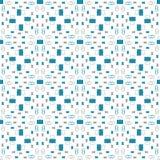 Naadloos patroon met bureaukantoorbehoeften, paperclippen, punaisen, klemmen Royalty-vrije Stock Foto