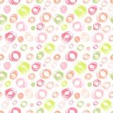 Naadloos patroon met cirkelelement Stock Foto's