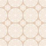 Naadloos patroon met cirkels royalty-vrije illustratie