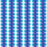 Naadloos patroon met cirkelsblauw Royalty-vrije Stock Foto's