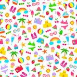 Het patroon van de zomer Royalty-vrije Stock Afbeelding