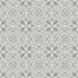 Naadloos patroon met decoratief ornament Royalty-vrije Stock Foto's