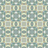 Naadloos patroon met decoratief ornament Royalty-vrije Stock Fotografie