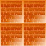 Naadloos patroon met elementen van metselwerk Stock Foto