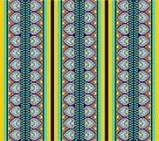 Naadloos patroon met ethnomotieven Royalty-vrije Stock Foto