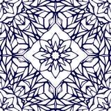 Naadloos patroon met etnisch kantornament Royalty-vrije Stock Fotografie