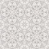 Naadloos patroon met etnisch kantornament Stock Afbeelding