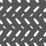 Naadloos patroon met fles Royalty-vrije Stock Fotografie