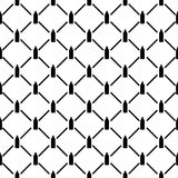 Naadloos patroon met fles Stock Afbeelding