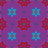 Naadloos patroon met gekleurde vormen Royalty-vrije Stock Afbeelding