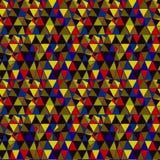 Naadloos patroon met geometrische vormen Royalty-vrije Stock Afbeeldingen