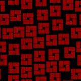 Naadloos patroon met geometrische vormen Royalty-vrije Illustratie