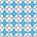 Naadloos patroon met geometrische vormen Stock Afbeeldingen