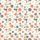 Naadloos patroon met geschilderde plonstextuur Royalty-vrije Stock Foto's