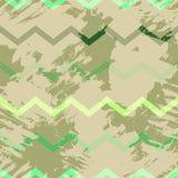 Naadloos patroon met geweven vlekken stock illustratie