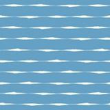 Naadloos patroon met grungeslagen Stock Foto's