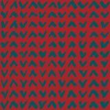 Naadloos patroon met hand getrokken tikken Vector Royalty-vrije Stock Afbeeldingen