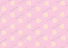 Naadloos patroon met harten Stock Foto