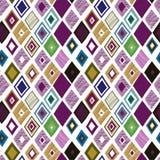 Naadloos patroon met heldere geometrische elementen Royalty-vrije Stock Afbeeldingen