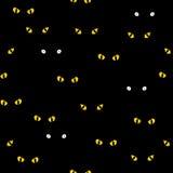 Naadloos patroon met heldere ogen vector illustratie