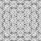Naadloos patroon met het ornament van het mozaïekkant Royalty-vrije Stock Afbeeldingen