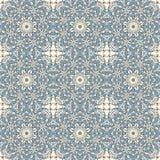 Naadloos patroon met het ornament van het mozaïekkant Royalty-vrije Stock Fotografie