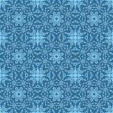 Naadloos patroon met het ornament van het mozaïekkant Stock Afbeeldingen