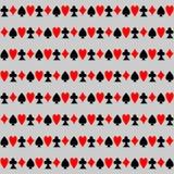 Naadloos Patroon met Kaarten Royalty-vrije Stock Fotografie