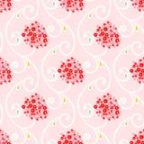 Naadloos patroon met kleine bloemen Royalty-vrije Stock Afbeeldingen