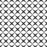 Naadloos patroon met kleine gesneden dwarsvormen Ontwerp voor decor, stof, drukken stock illustratie