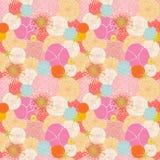 Naadloos patroon met kleurrijke bloemen Royalty-vrije Stock Afbeelding