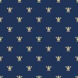Naadloos patroon met koninklijke lelietextuur Stock Foto's
