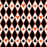 Naadloos patroon met kostuums Stock Foto