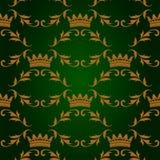 Naadloos patroon met kronen Royalty-vrije Stock Fotografie